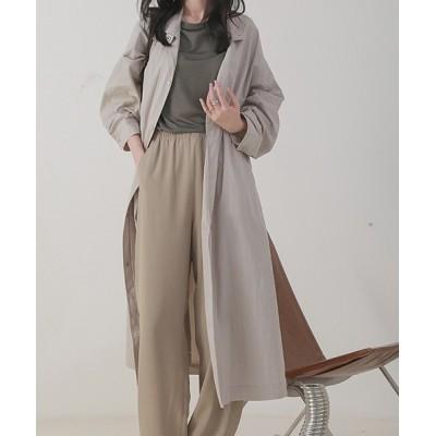 chuclla / 【chuclla】Stand collar spring coat  chw1073 WOMEN ジャケット/アウター > ステンカラーコート