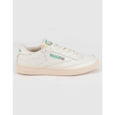 リーボック REEBOK レディース スニーカー シューズ・靴 Club C 85 Vintage Shoes WHITE