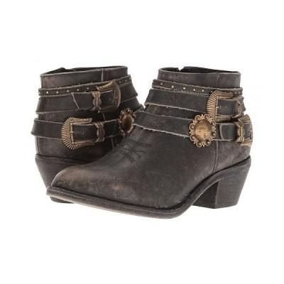Corral Boots コーラルブーツ レディース 女性用 シューズ 靴 ブーツ アンクル ショートブーツ P5101 - Black