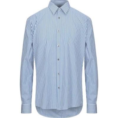 ドリス ヴァン ノッテン DRIES VAN NOTEN メンズ シャツ トップス Striped Shirt Azure