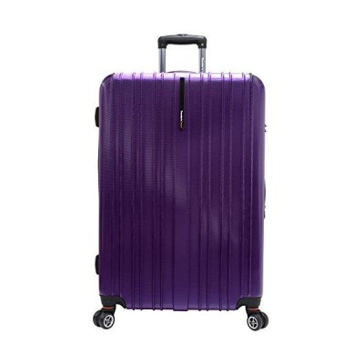 "Tasmania 29"" Expandable Hardsided Spinner Suitcase Color: Purple"