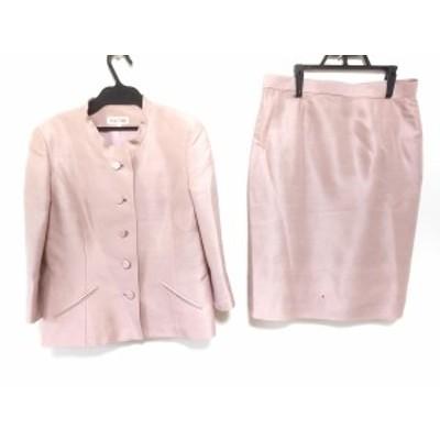 ユキトリイ YUKITORII スカートスーツ サイズ9 M レディース - ピンク【中古】20201227