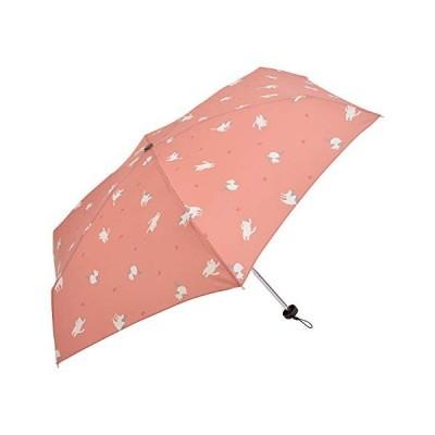 Nifty Colors 折りたたみ傘 ピンク サイズ/約51cm×約88cm neco 5段 6本骨