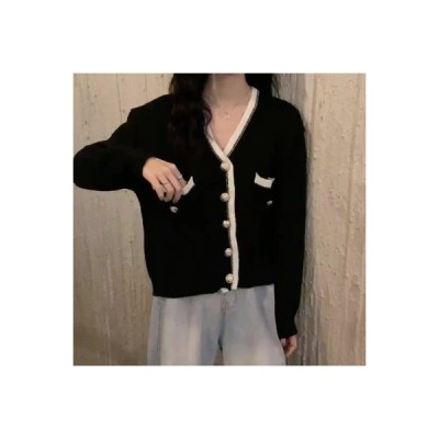 【送料無料】フレンチ タイプ レトロ 小 デザイン 感 長袖セーター 女 年 秋 新しいデザイン | 346770_A63761-4658589
