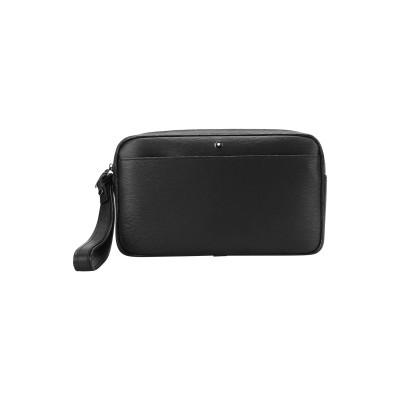 MONTBLANC ハンドバッグ ブラック 牛革(カーフ) ハンドバッグ