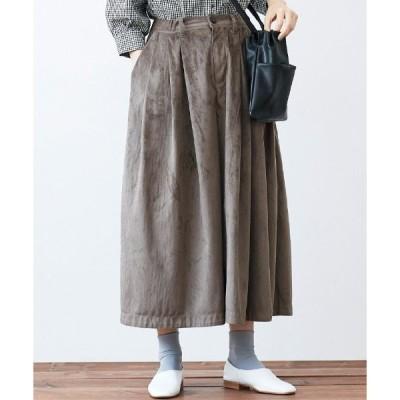 スカート サニークラウズ 嘘つきスエードキュロパン〈レディース〉