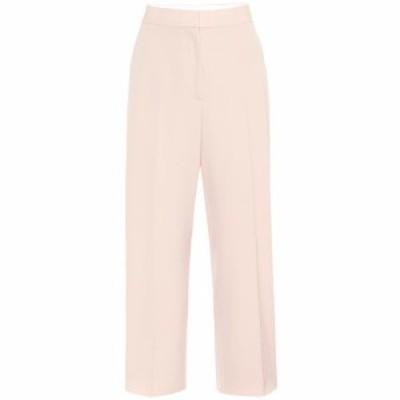 ステラ マッカートニー Stella McCartney レディース ボトムス・パンツ High-rise straight wool pants Tearose