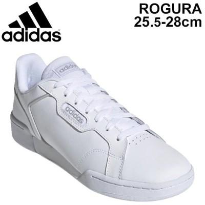 スニーカー メンズ シューズ adidas アディダス ログエラ ROGUERA M/コートスタイル レザースニーカー ローカット 男性 ホワイト 白 靴  GTI74 くつ/EG2658