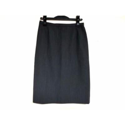 バーバリーズ Burberry's スカート サイズ40 M レディース グレー【中古】20200411