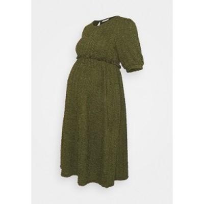 ママリシャス レディース ワンピース トップス MLCALIFORNIA DRESS - Jersey dress - deep lichen green deep lichen green