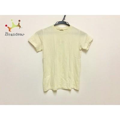 ジルサンダー JILSANDER 半袖Tシャツ サイズS レディース - アイボリー クルーネック 新着 20200823