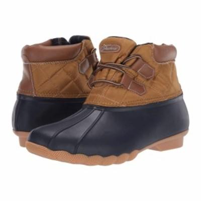 スケッチャーズ SKECHERS レディース ブーツ シューズ・靴 pond Navy/Tan