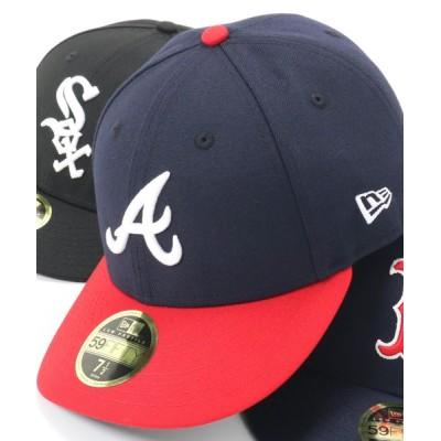 帽子屋ONSPOTZ / ニューエラ キャップ オーセンティック LOW PROFILE 59FIFTY MLB オンフィールド NEW ERA LP WOMEN 帽子 > キャップ
