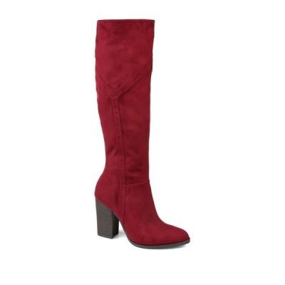 ジャーニーコレクション レディース ブーツ&レインブーツ シューズ Kyllie Tall Boot - Extra Wide Calf BURGUNDY