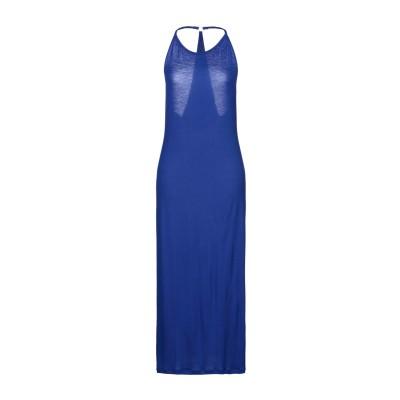 GRAZIA'LLIANI SOON 7分丈ワンピース・ドレス ブライトブルー 42 レーヨン 95% / ポリウレタン 5% 7分丈ワンピース・ド