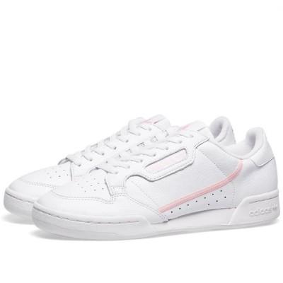 アディダス Adidas レディース スニーカー シューズ・靴 Continental 80 W White/True Pink/Clear Pink