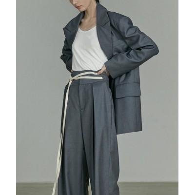 chuclla / 【UNSPOKEN】Color wide pants UQ20K017 WOMEN パンツ > スラックス