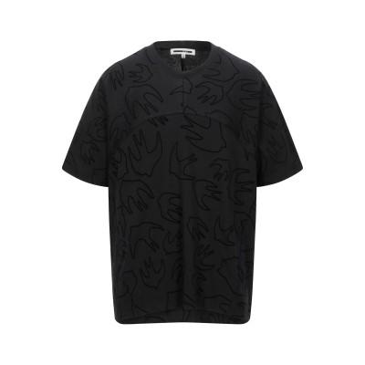 マックキュー アレキサンダー・マックイーン McQ Alexander McQueen T シャツ ブラック XS コットン 100% / ポリエス