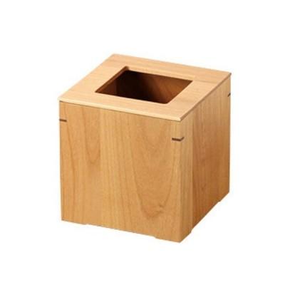 カントリーな雰囲気の木製ダストボックス(小) 日本製