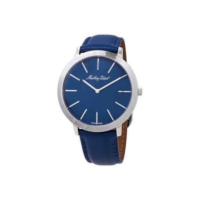 腕時計 ティソット メンズ Mathey-Tissot Darius Blue Dial Men's Watch H7915ABU