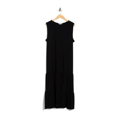 タッシュプラスソフィー レディース ワンピース トップス Tiered Maxi Dress BLK