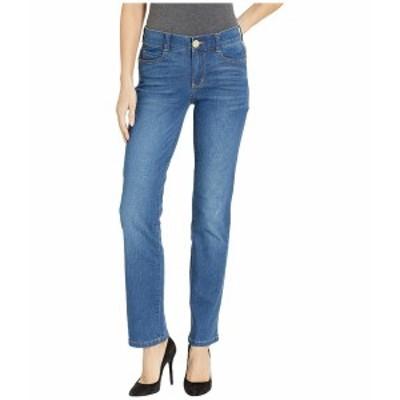 ビンテージアメリカ レディース デニムパンツ ボトムス Body Sculpt Straight Jeans in Light Blue Light Blue