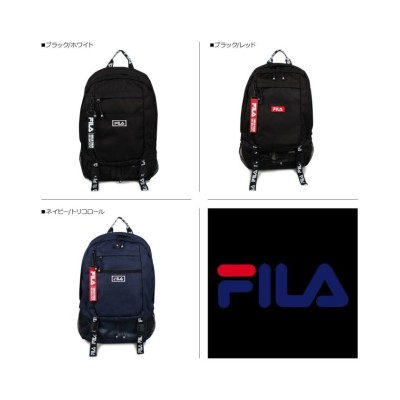 【スニークオンラインショップ】 FILA フィラ リュック バッグ バックパック メンズ レディース 23L BAG PACK ブラック ネイビー 黒 7560 ユニセックス ブラック系1 ワンサイズ SNEAK ONLINE SHOP