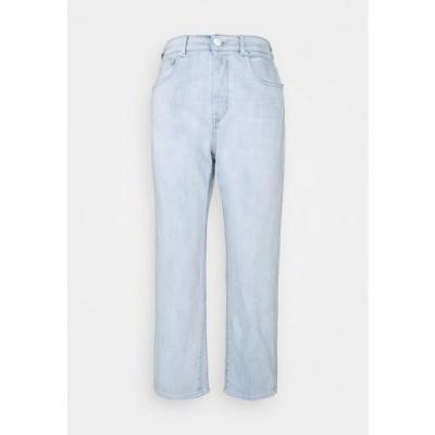 リプレイ レディース ファッション TYNA PANTS - Relaxed fit jeans - light blue