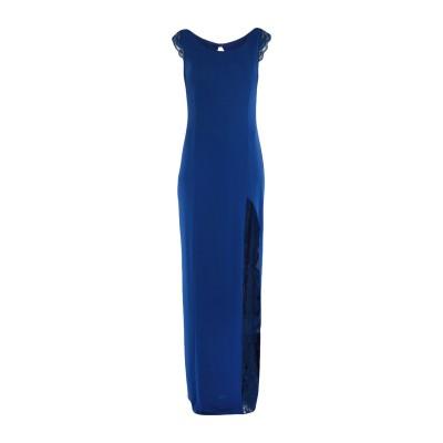 SOANI ロングワンピース&ドレス ブライトブルー 44 ポリエステル 100% ロングワンピース&ドレス