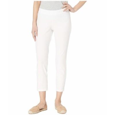 エイリーンフィッシャー カジュアルパンツ ボトムス レディース Petite Slim Ankle Pants White