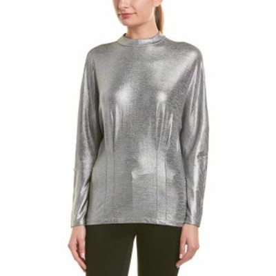 ファッション トップス Reiss Gale Metallic Sweater S Grey
