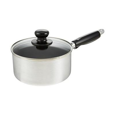 和平フレイズ 片手鍋 煮物 茹で物べネス 16cm ガラス蓋付 ふっ素樹脂加工 IH対応 BR-4525