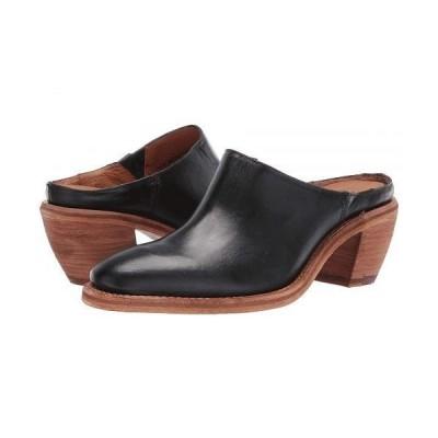Frye フライ レディース 女性用 シューズ 靴 ヒール Rosalia Mule - Black Antique Pull Up