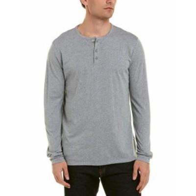 ONIA オニア ファッション トップス Onia Miles Henley Shirt S Grey
