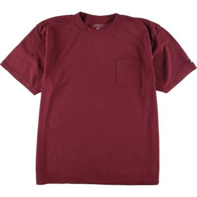 ディッキーズ Dickies ワンポイントロゴポケットTシャツ メンズXXL /eaa148569
