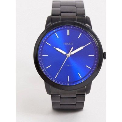 フォッシル Fossil メンズ 腕時計 ブレスレットウォッチ minimalist black bracelet watch FS5693 ブラック