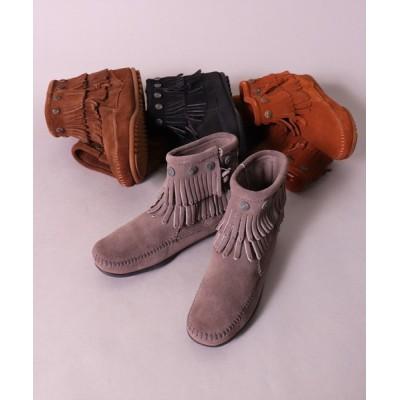 BAYBLO / 【Minnetonka】フリンジ サイドジップ コンチョ ブーツ(691T/692/693/699)(EL) WOMEN シューズ > ブーツ