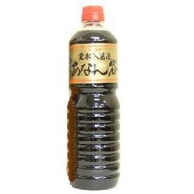 【富山の醤油】穴谷醤油 あなんたんしょうゆ 濃口 1000ml 1L 1本