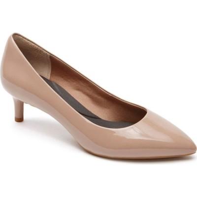 ロックポート ROCKPORT レディース パンプス シューズ・靴 'Total Motion Kalila' Pump Dark Taupe Leather