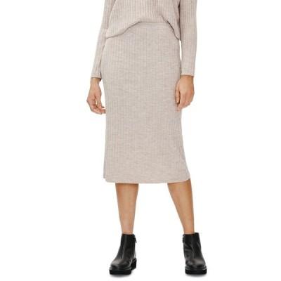 エイリーンフィッシャー スカート ボトムス レディース Wool Pencil Skirt Med Beige