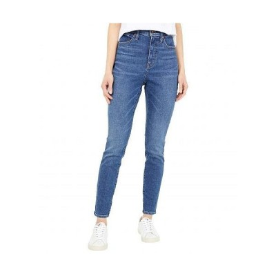 """Madewell レディース 女性用 ファッション ジーンズ デニム Curvy 10"""" High-Rise Skinny Jeans in Wendover Wash - Wendover Wash"""