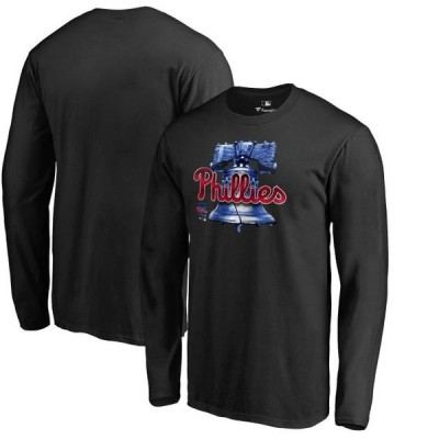 ユニセックス スポーツリーグ メジャーリーグ Philadelphia Phillies Fanatics Branded Big & Tall Midnight Mascot Long Sleeve T-Shirt