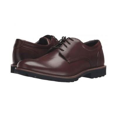 Rockport ロックポート メンズ 男性用 シューズ 靴 オックスフォード 紳士靴 通勤靴 Sharp & Ready Colben - Brown Burnished Leather