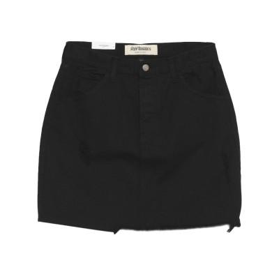 ロイ ロジャース ROŸ ROGER'S デニムスカート ブラック 28 コットン 100% デニムスカート