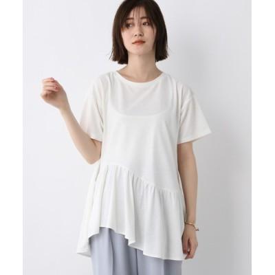 tシャツ Tシャツ PoフリルヘムTシャツ 950257