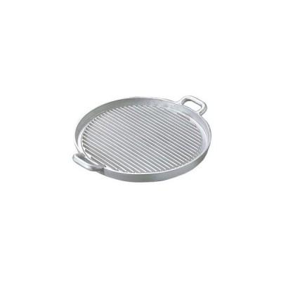 アルミイモノ 丸型 ステーキパン 大 570×460【 鍋全般 】