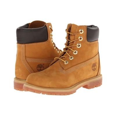 ティンバーランド Timberland レディース ブーツ シューズ・靴 6' Premium Boot Wheat Nubuck