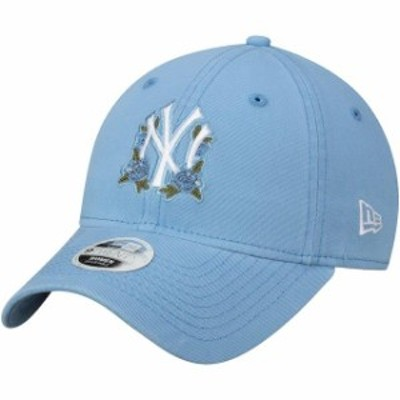 New Era ニュー エラ スポーツ用品  New Era New York Yankees Womens Blue Bloom 9TWENTY Adjustable Hat