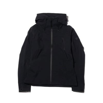 デサント DESCENTE ジャケット オルテライン ハード シェル ジャケット クレアス (BLACK) 19SP-I