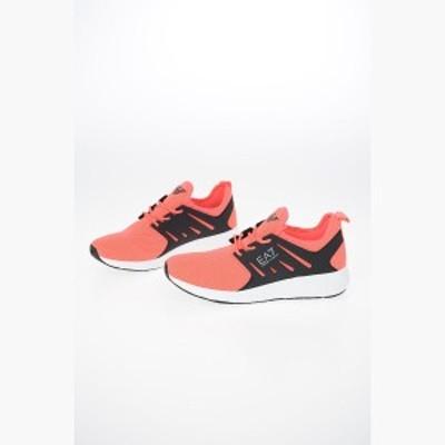 ARMANI EA7/エンポリオ アルマーニ スニーカー Pink メンズ 秋冬2019 EA7 EMPORIO Fabric Sneakers dk